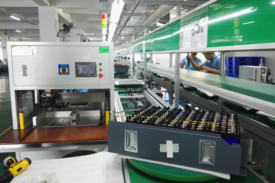 Cylindrical battery factory