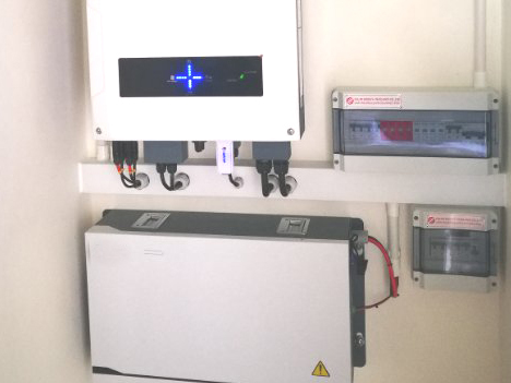 7kwh wall-mounted powerwall battery system