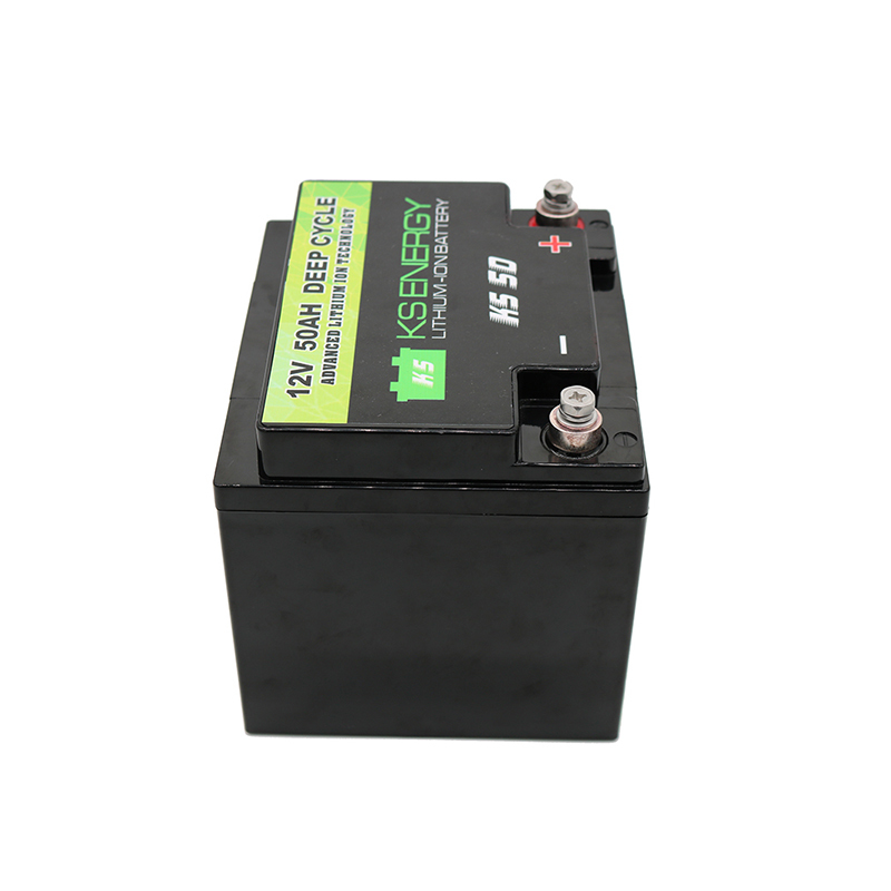12V 50AH More Than 4000 Cycles Lithium Ion RV Battery