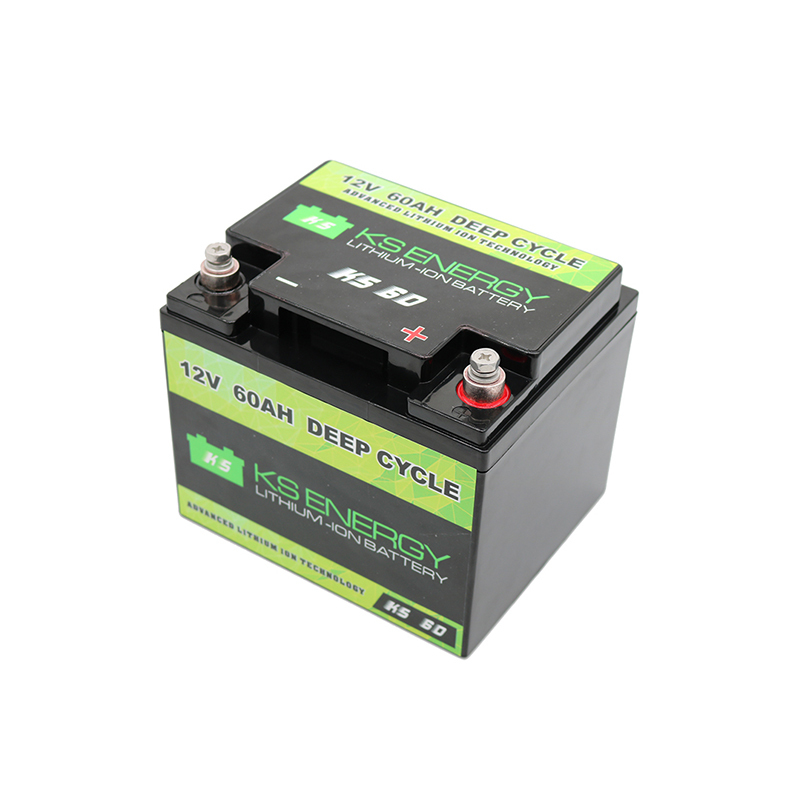 12V 60AH Deep Cycle Lifepo4 Lithium Motorcycle Battery