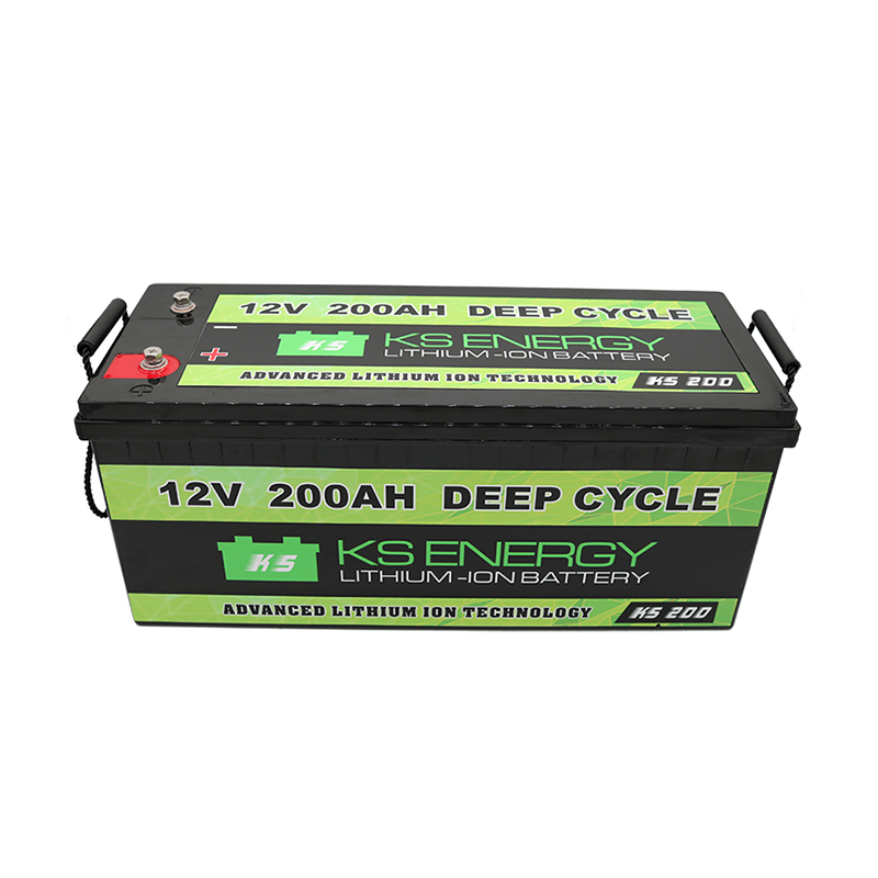12V 200AH Lifepo4 Deep Cycle Lithium Ion RV Battery Manufacturers