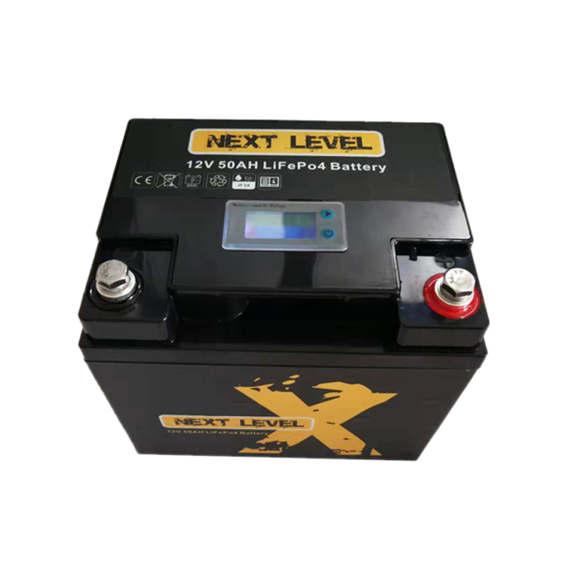 12V 50AH Li-ion Battery With LED Capacity Display