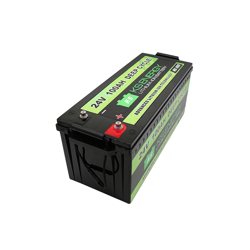 24V 100AH Lifepo4 Deep Cycle Lithium Ion Battery Pack Manufacturers