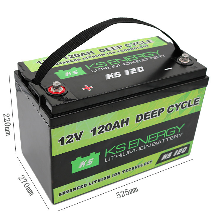 cycle cycles 12v 50ah lithium battery life GSL ENERGY