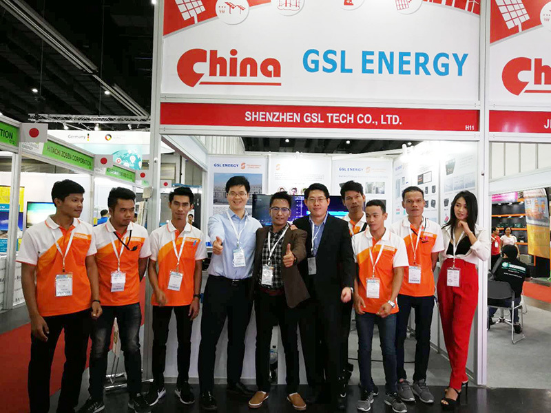 GSL ENERGY Shines like a Star in Thailand Energy Show
