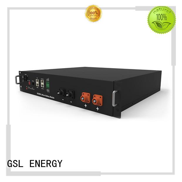 ess battery pack telecom lifepo4 ion GSL ENERGY Brand telecom battery
