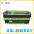Quality GSL ENERGY Brand long 12v 50ah lithium battery