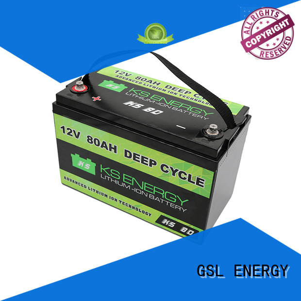 deep Custom rechargeable liion 12v 50ah lithium battery GSL ENERGY lithium