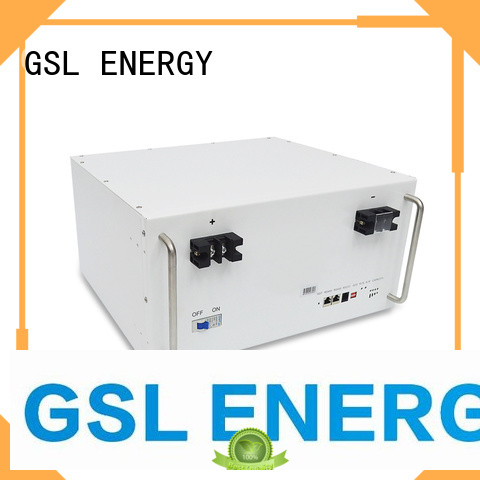 solar Custom tower bank telecom battery GSL ENERGY telecom