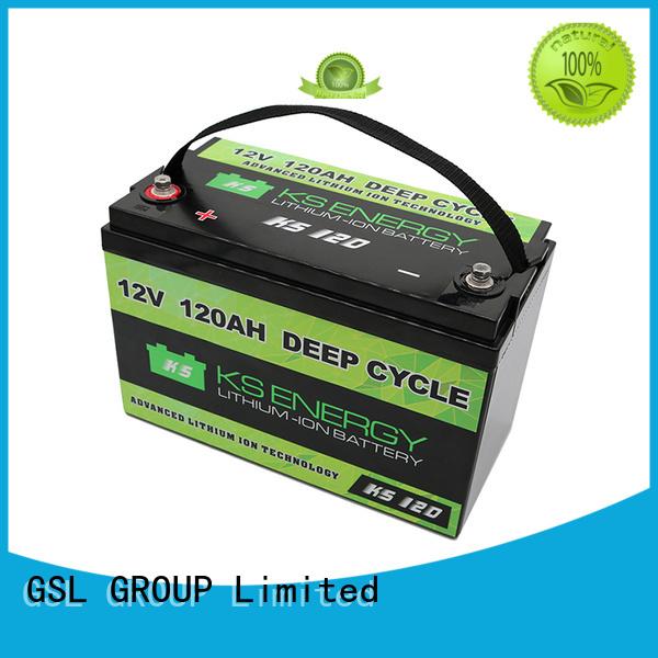 solar lifepo4 more GSL ENERGY Brand 12v 20ah lithium battery factory