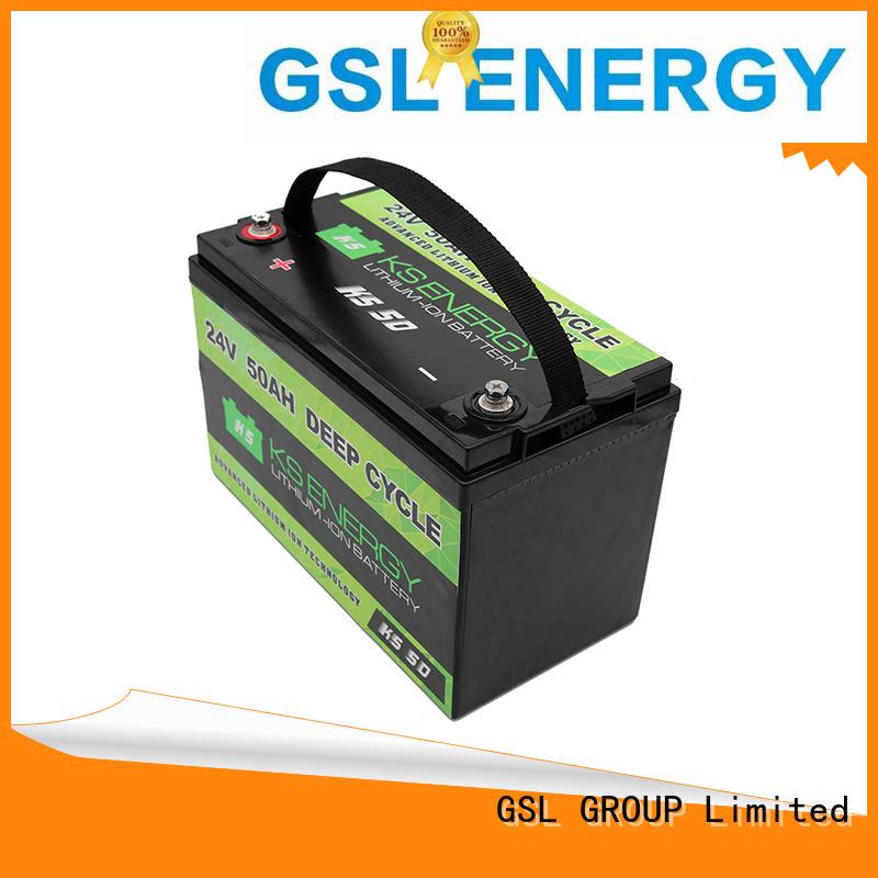 ion 24v li ion battery battery bank GSL ENERGY Brand
