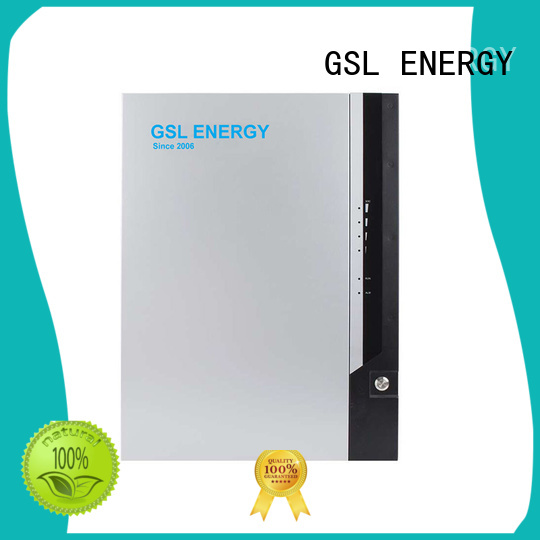 GSL ENERGY Brand system lithium 6kwh powerwall battery manufacture