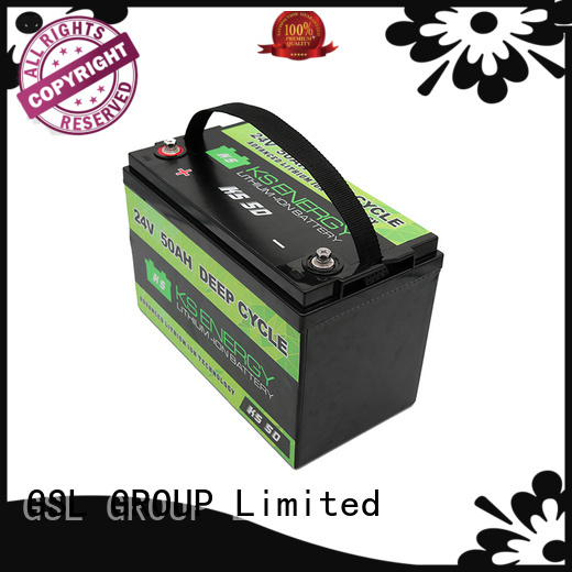 GSL ENERGY Brand cycle bank battery custom 24v li ion battery