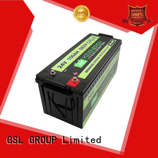 Hot pack 24v li ion battery ion GSL ENERGY Brand