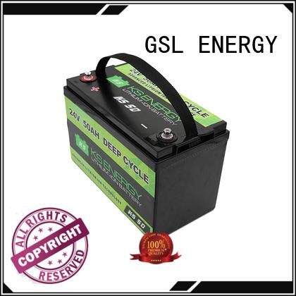 deep ion bank GSL ENERGY Brand 24v li ion battery factory