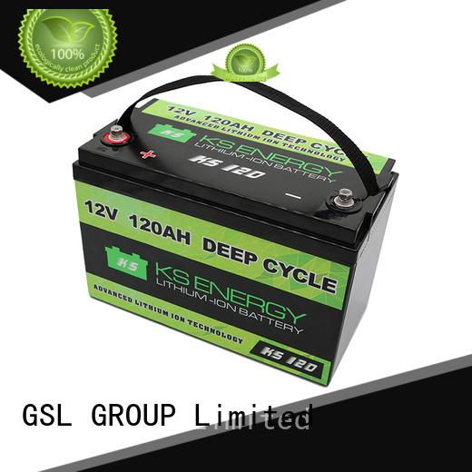 Wholesale motorcycle lifepo4 12v 50ah lithium battery GSL ENERGY Brand