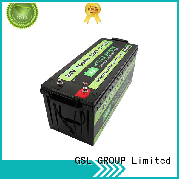 cycle 24V lithium battery ion lithium GSL ENERGY company