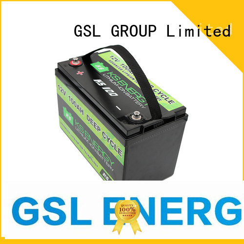 Hot 12v 50ah lithium battery caravans GSL ENERGY Brand
