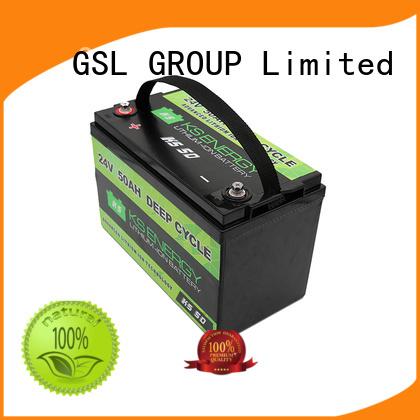24v li ion battery battery ion 24V lithium battery GSL ENERGY Brand