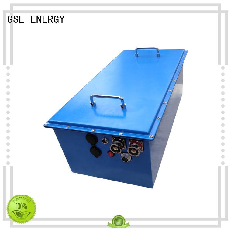 48v golf cart battery rickshaw cart GSL ENERGY Brand