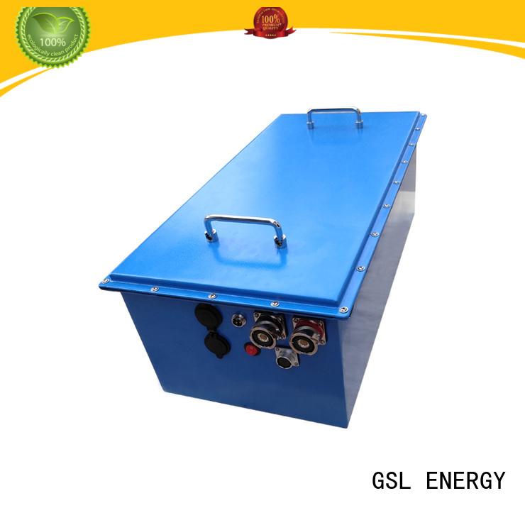 Wholesale precedent 48v golf cart battery club GSL ENERGY Brand