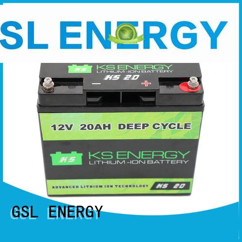 liion li 12v 50ah lithium battery rv GSL ENERGY company