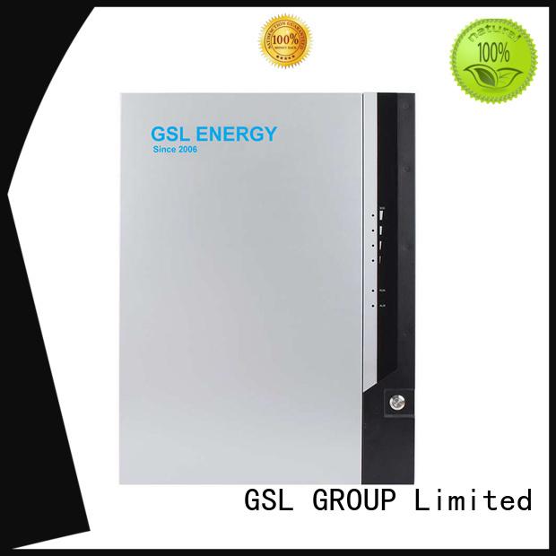 GSL ENERGY Brand lifepo4 gsl lithium system powerwall battery