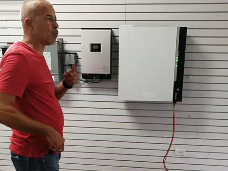 7kwh powerwall lithium battery storage for Home ESS off grid