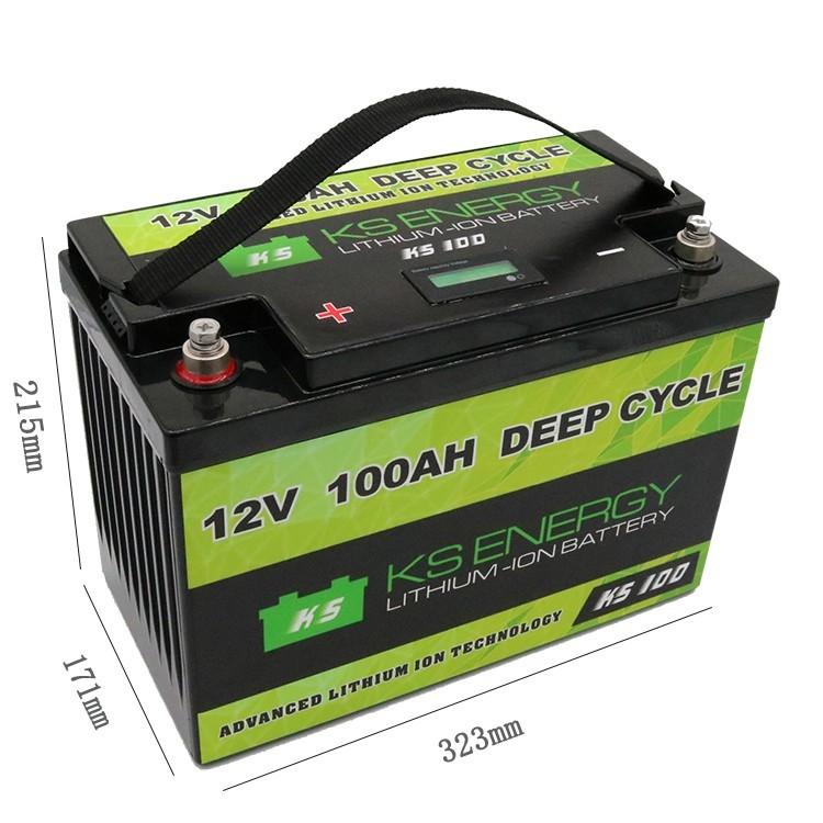camping solar GSL ENERGY Brand 12v 50ah lithium battery
