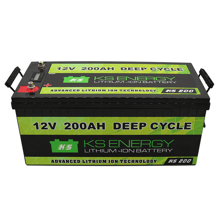 GSL ENERGY-Led Capacity Display 12v 200ah Lithium Iron Phosphate Lifepo4 Battery For