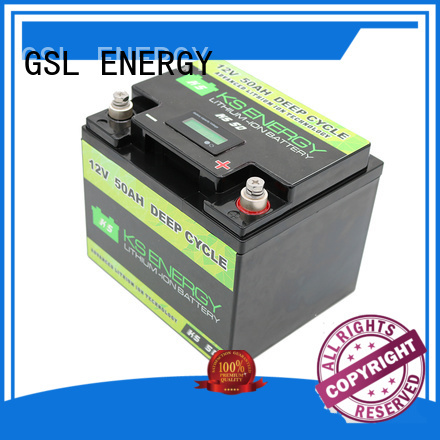 Hot 12v 20ah lithium battery rechargeable GSL ENERGY Brand